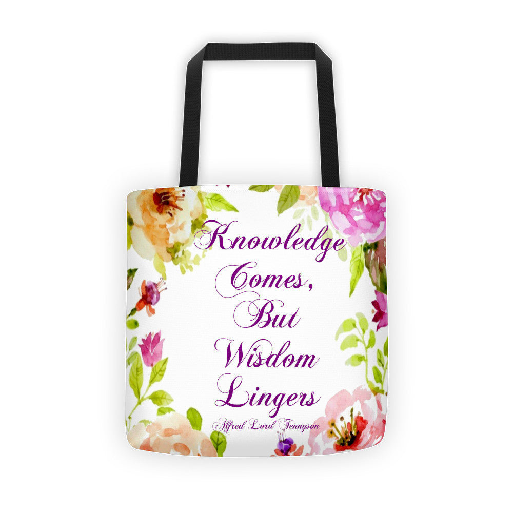 Knowledge Comes Tote bag