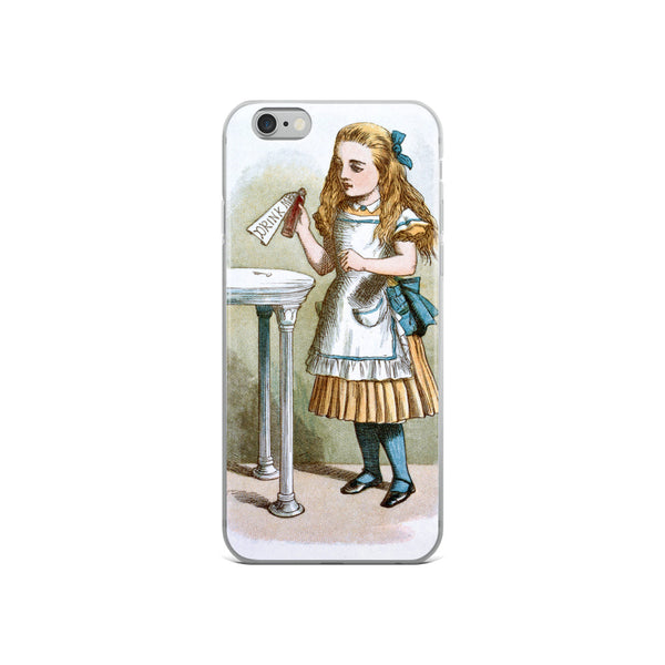 John Tenniel Alice in Wonderland iPhone Case