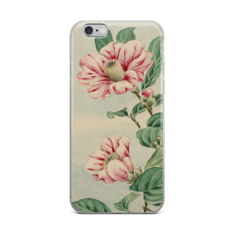 Asian Flowers iPhone Case