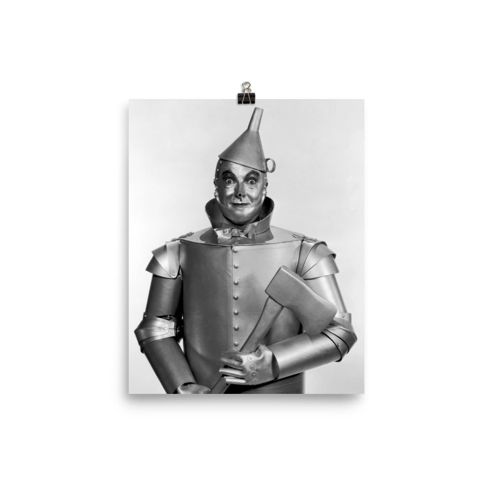 Wizard of Oz Tin Man Jack Haley Vintage Reproduction Poster