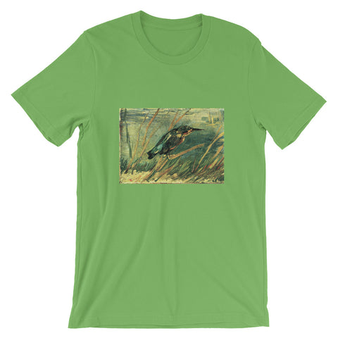 Van Gogh Art The Kingfisher Short-Sleeve Unisex T-Shirt