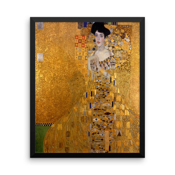 "Gustav Klimt ""The Woman in Gold"" Framed Poster"