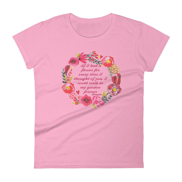 If I Had a Flower Women's short sleeve t-shirt