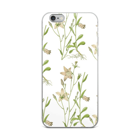 Flora and Fauna Botanical iPhone Case