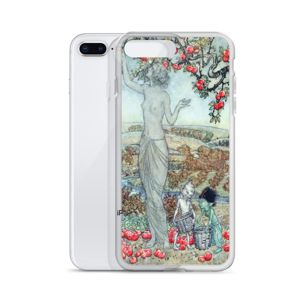 Arthur Rackham a Dish of Apples iPhone Case