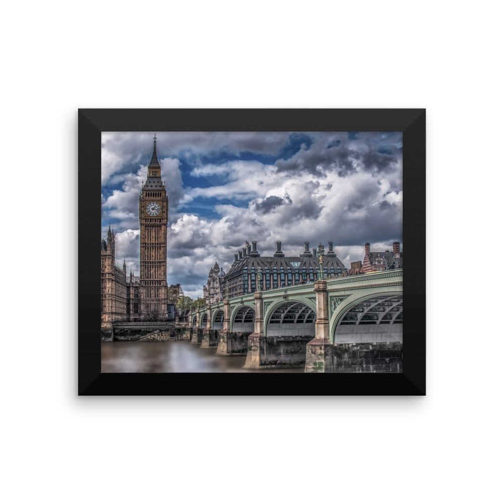 London Big Ben Photo Art Framed poster