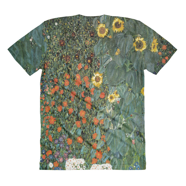Gustave Klimt Landscape All Over Sublimation Women's Crew Neck T-shirt