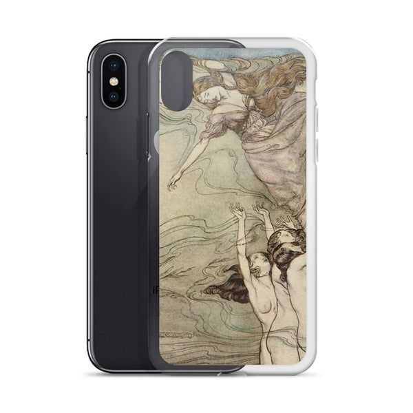 Arthur Rackham Mermaid iPhone Case