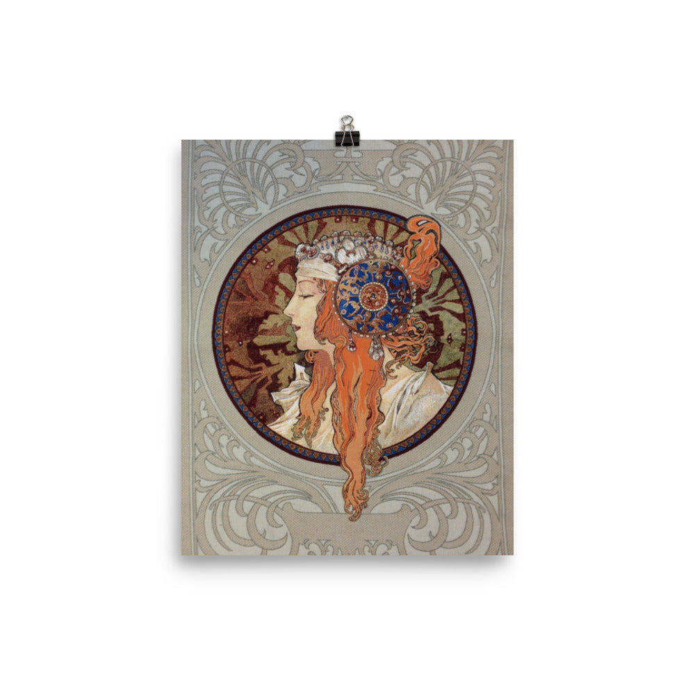 Alphonse Mucha Art Reproduction Poster