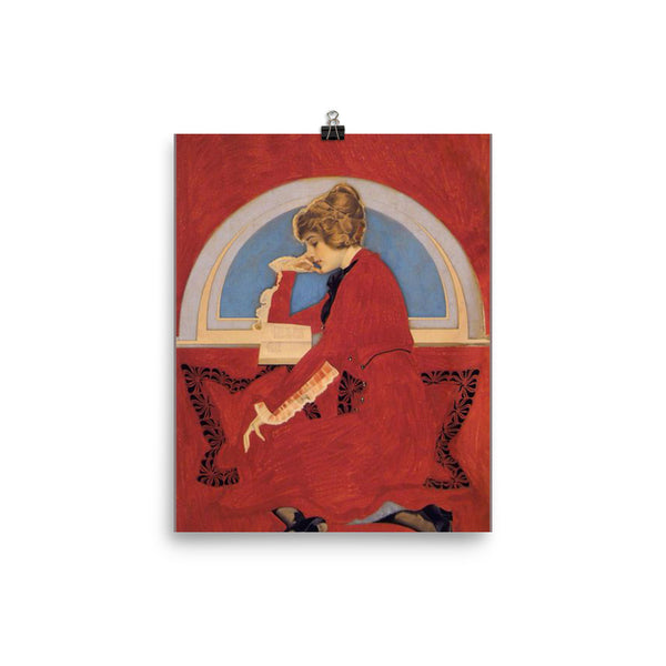 Coles Phillips Poster Good Housekeeping Christmas Poster