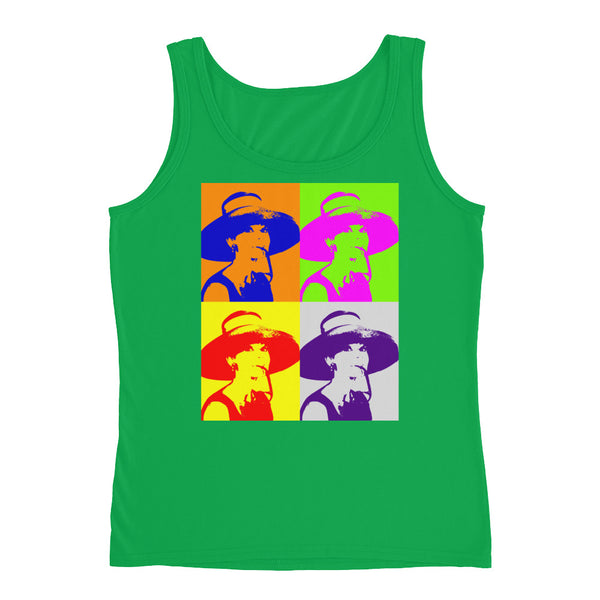 Audrey Hepburn Pop Art Women's Ladies' Tank