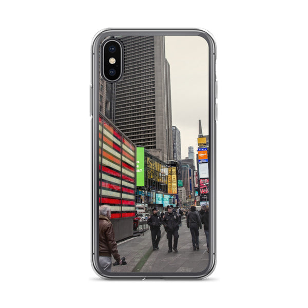 New York City Street Photo iPhone Case