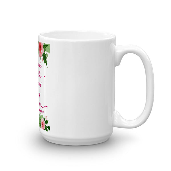 O Give Thanks To The Lord Mug made in the USA