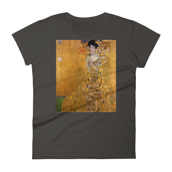 "Gustav Klimt ""Woman in Gold""  Women's Short Sleeve T-shirt"