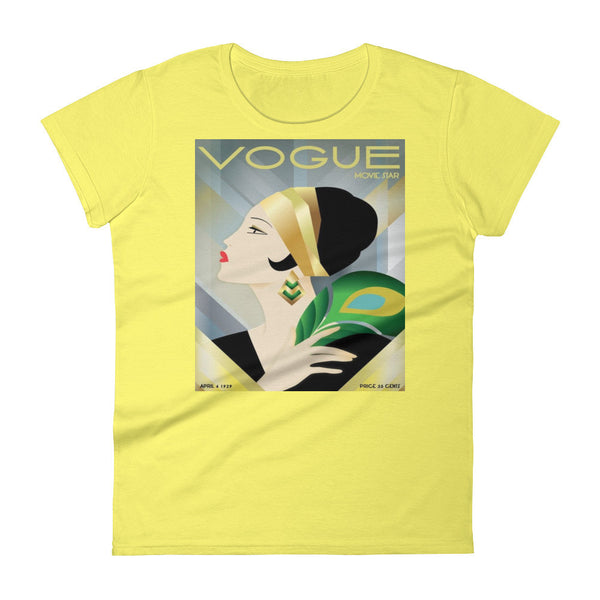 Vintage Vogue Magazine Women's short sleeve Tee Shirt