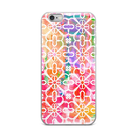Watercolor Design iPhone Case