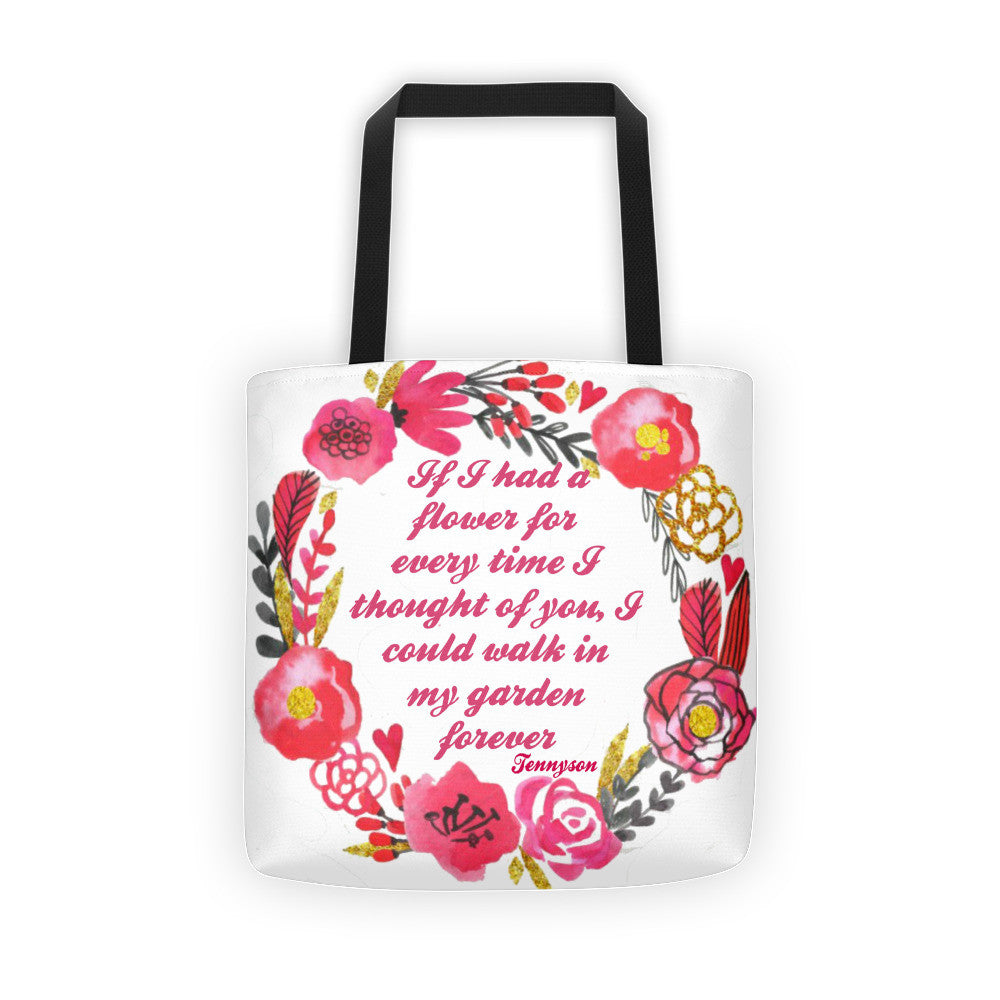 If i Had a FlowerTote bag