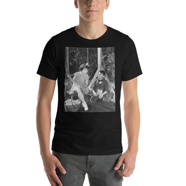 Darla and Alfalfa Little Rascals Photo Short-Sleeve Unisex T-Shirt