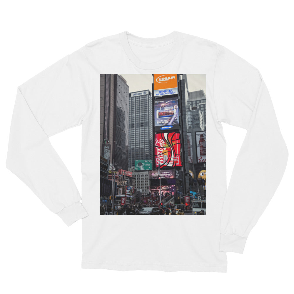 New york City Photo Unisex Long Sleeve T-Shirt