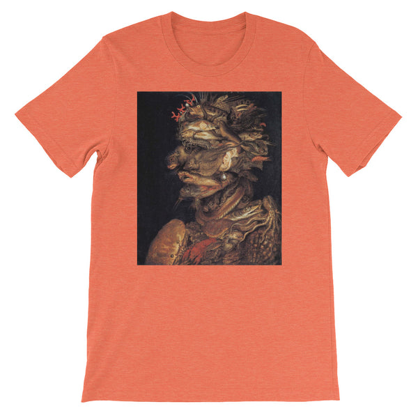 "Giuseppe Arcimboldo ""Four Elements Water"" Short Sleeve T-Shirt"