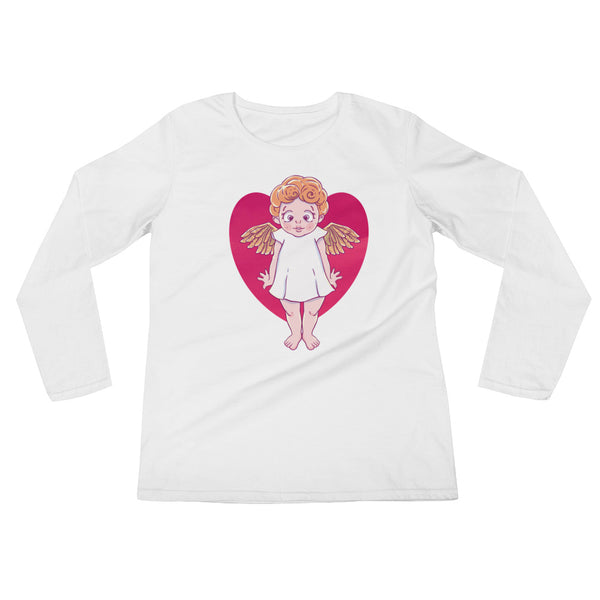 Valentine's Day Ladies' Long Sleeve T-Shirt