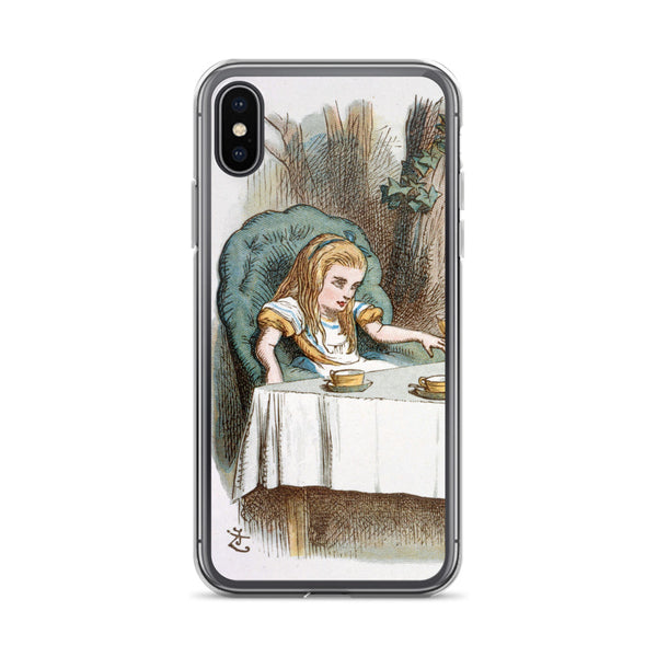 Alice in Wonderland Tea Party iPhone Case