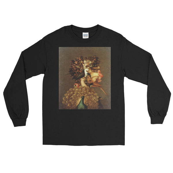"Guseppe Arcimboldo ""Four Elements Air""  Long Sleeve T-Shirt"