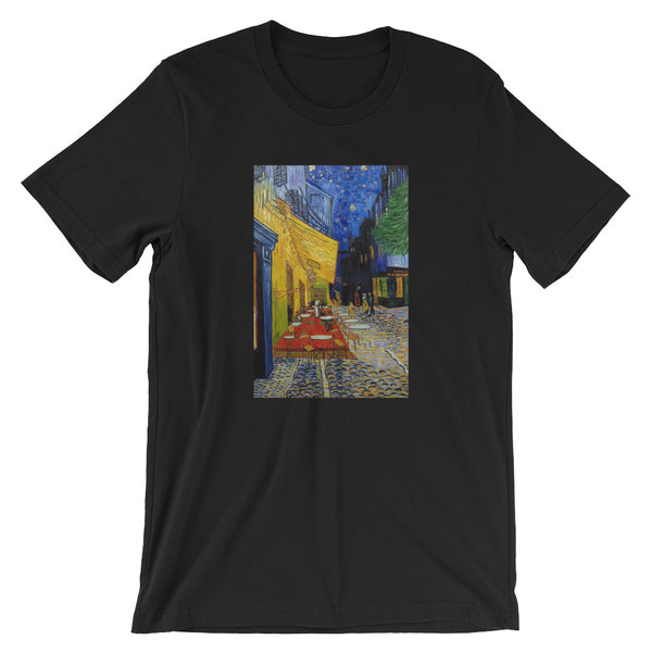 Van Gogh Art T-shirt Short-Sleeve Unisex T-Shirt