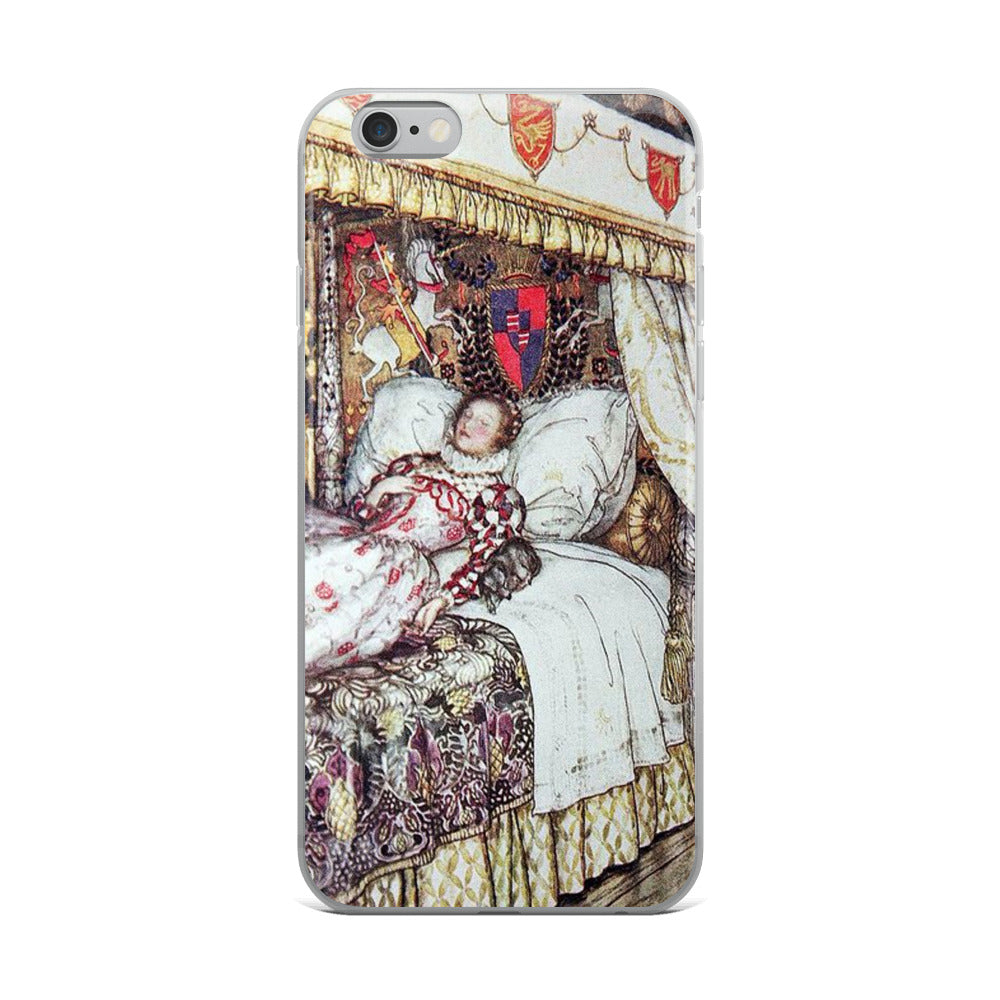Arthur Rackham Queen Elizabeth iPhone Case