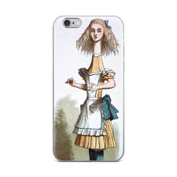 Alice in Wonderland Tall Alice iPhone Case
