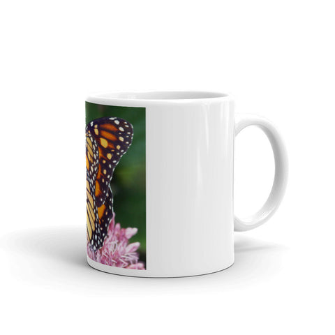 You Must Be Born Again Butterfly Mug made in the USA