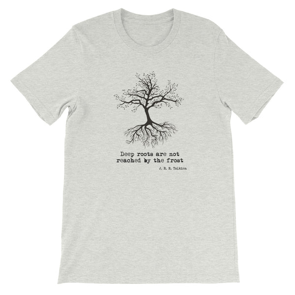 Deep Roots Art Not Reached By The Frost Short-Sleeve Unisex T-Shirt