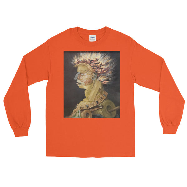 "Guseppe Arcimboldo ""Four Elements Earth"" Long Sleeve T-Shirt"