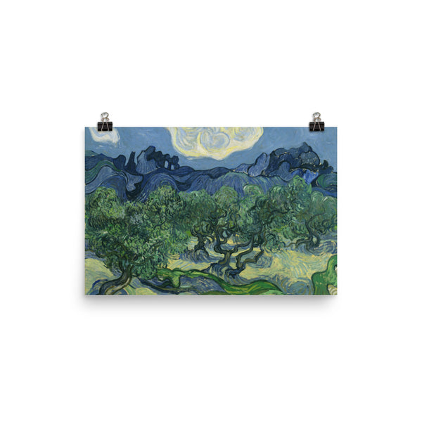 Vincent Van Gogh Art Landscape Reproduction Poster