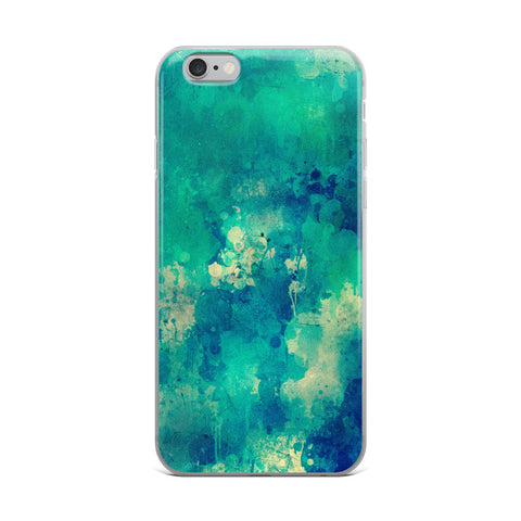 Watercolor Blue iPhone Case