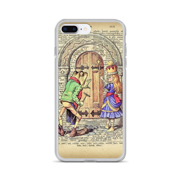 Alice in Wonderland Alice Through the Looking Glass iPhone Case