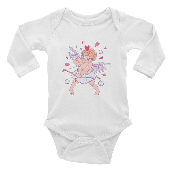 Valentine's Day Infant Long Sleeve Bodysuit