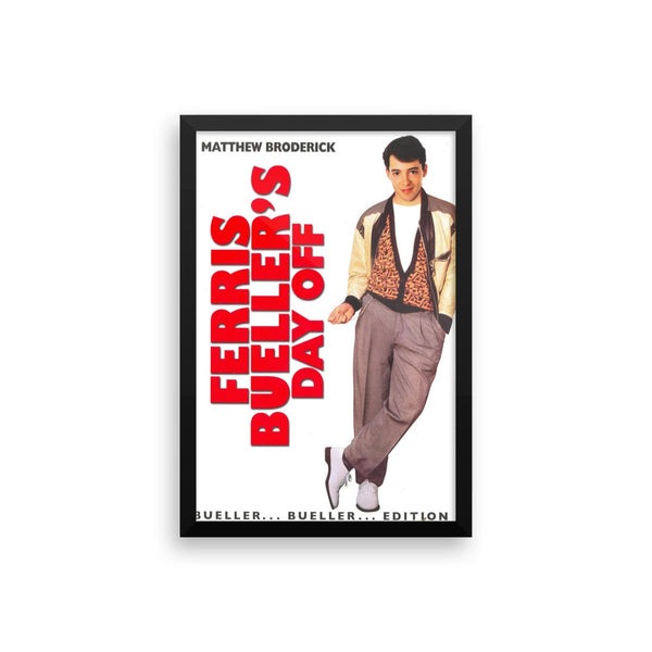 Ferris Bueller's Day Off Vintage Movie Poster Framed Poster