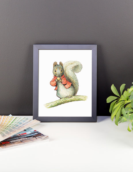 Timmy Tip Toes Framed Poster, Beatrix Potter Peter Rabbit Framed Art Print