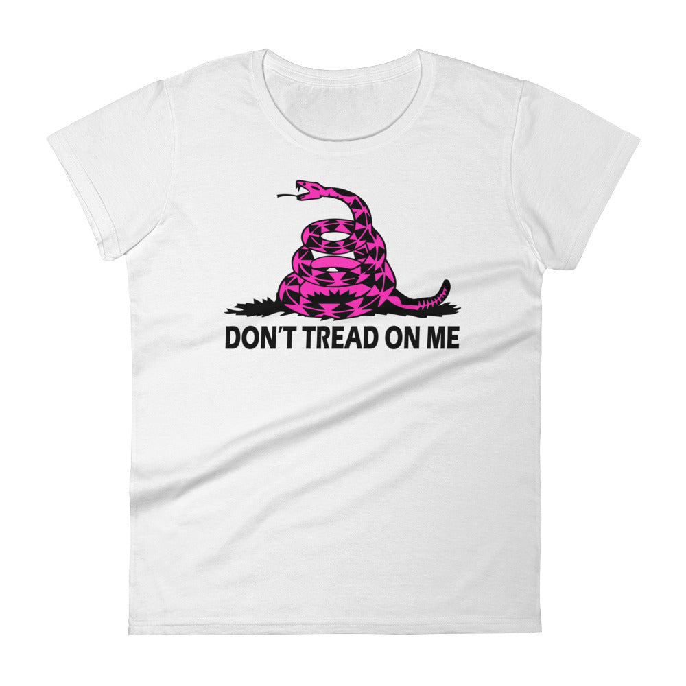 Don't Tread On Me Women's Short Sleeve T-shirt