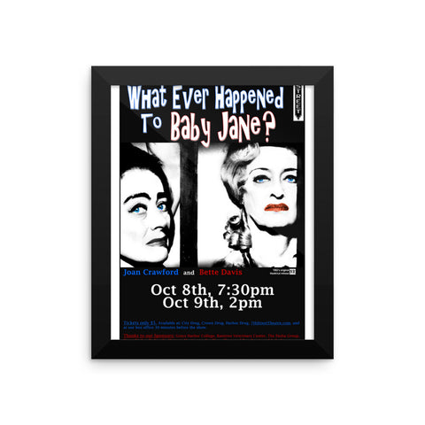 Whatever Happened to Baby Jane Framed Movie Poster