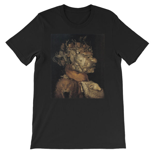 "Giuseppe Arcimboldo ""Four Elements  Earth""  Short-Sleeve Unisex T-Shirt"