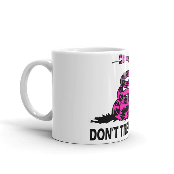 Pink Don't Tread On Me Mug