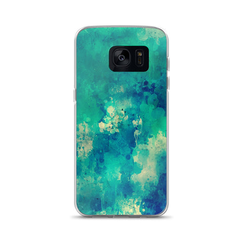 Watercolor Blue Samsung Case