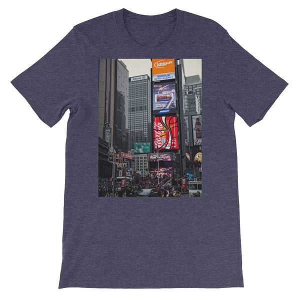 New york City Photo Short-Sleeve Unisex T-Shirt