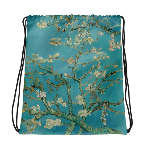 Vincent Van Gogh Almond Blossoms Drawstring bag, Backpack