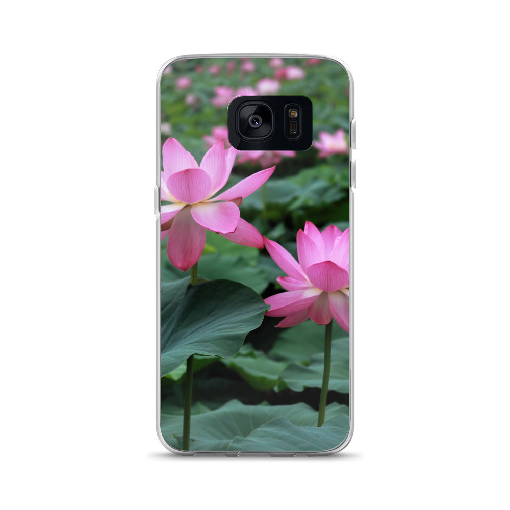 Beautiful Lotus Flower Bud Samsung Case Photo Samsung Cover