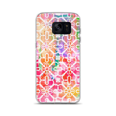 Watercolor Design Samsung Case