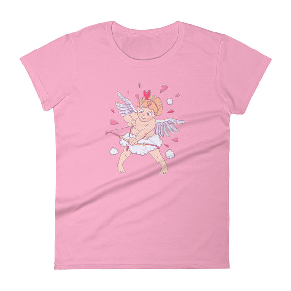 Valentine's Day Cupid Women's Short Sleeve T-shirt