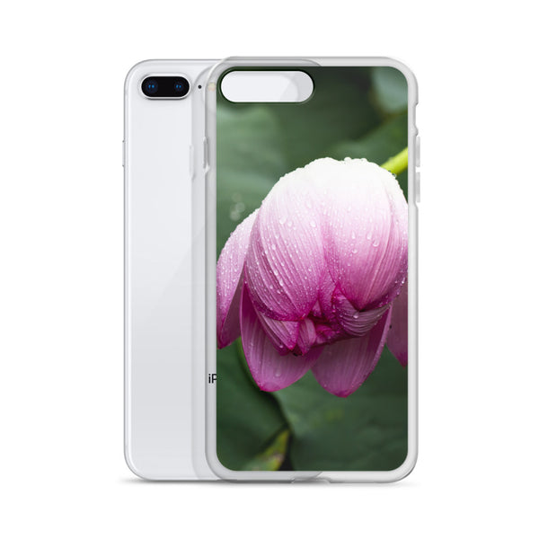 Beautiful Lotus Flower Bud iPhone Case, Photo iPhone case, iPhone Cover